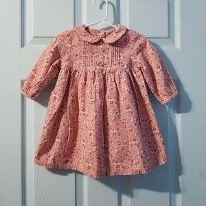 |nwot|•gymboree floral dress 12-18mos•